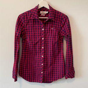 Vineyard Vines Plaid Shirt